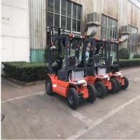 Pneumatic Tires Diesel Forklift Truck 3000mm Lift Height Automatic Transmission Manufactures