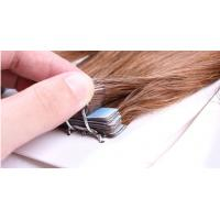 Custom Brown Durable Straight Tape In Human Hair Extensions Virgin Hair Manufactures