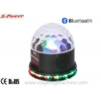 3*3W RGB LEDs Sunflower  Led Disco Lights  With Bluetooth Speaker  For Ktv ,Household  VS-66BT Manufactures