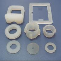 Colorful Custom Silicone Parts With Molded / Injection / Transfer Processing Manufactures
