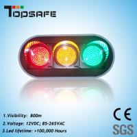"""200mm (8"""") LED Traffic Signal with 3 Full Balls (TP-JD200-3-203) Manufactures"""