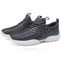 Lace Up Mesh Fabric Comfortable Athletic Shoes Male Lightweight Breathable Sneakers Manufactures