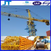 tower crane manufacturers 4T JT4808 good use tower crane price Manufactures