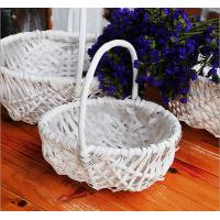 wicker handle basket wicker fruit basket bamboo wicker baskets cheap wicker picnic basket Manufactures