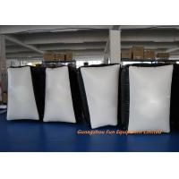 0.6mm / 0.9mm PVC Tarpaulin Inflatable Sport Games , Inflatable Paintball Bunkers Manufactures