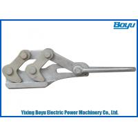 Quality Aluminum Made Ground Cable Self Gripping Clamps Size 50~70mm2 Transmission Line Stringing Tools for sale