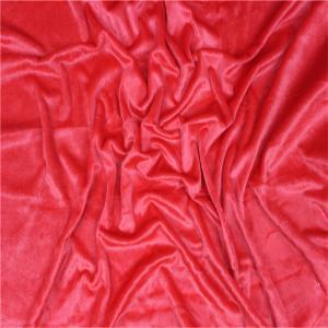 aloba fabric 180gsm 100% polyester mirco velboa fabric high quality fabrics Manufactures