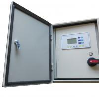 Triplex Digital Water Pump Control Box Programmable Logic Controller In Ip 54 Metal Cabinet Manufactures