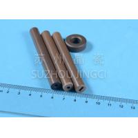 brown 95% Alumina Ceramic Bearings and Shafts High Abrasion Resistance Manufactures