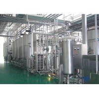 Complete Automatic Industrial Food Processing Equipment For Milk Dairy / Fresh Milk Manufactures