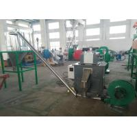 China Professional engineers available to service machinery overseas, PP PE flakes/scraps pelletizing recycling machine on sale