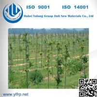 Pultruded GFRP Fiberglass Agricultural Tree Care Plastic Climbing Plant Stakes Manufactures