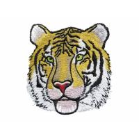 China Custom embroidery tiger digitizing Without any extra charge for Rush digitizing logo on sale