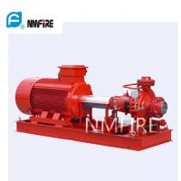 Ul Listed End Suction Pump , Fire Pump 100 Gpm@75psi 50hz Motor Driver Manufactures