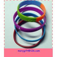 Fashionable Colorful Silicone Bracelet Manufactures