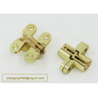 180 Degree 44 Mm Zinc Alloy Firm Furniture Wooden Box Hidden Hinge Easily Installed Manufactures
