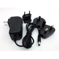China 24V 2A  24v 3a  24v 1.5a  interchangeable wall amount charger  for LED /SET TOP BOX /CCTV on sale