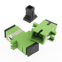 China Convenient SC Simplex Adapter Low Environmental Sensitivity ROHS Approved on sale