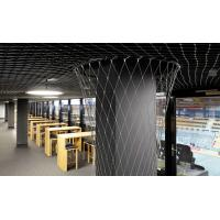 Architectural X Tend Flexible Cable Mesh SS Rope Allows Strongh Airflow Manufactures