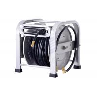 Spring Driven Hose Reel For Air And Water Tansfer , Heavy Duty Garden 1/4 Hose Reel Manufactures