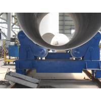 20T Self Aligning Pipe Welding Rollers Hydraulic Bending Machine With Moving Wheels Manufactures