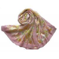 Burnt-out Raw Silk Scarf (HP-C1075) Manufactures