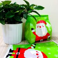 China New Design Christmas Candy Bags Plastic Gift Bags Package Treat Bags on sale