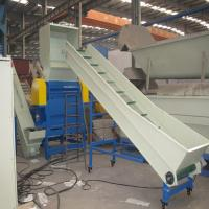 China Large Capacity Plastic Extrusion Equipment PP PE Washing Crushing Drying Line on sale