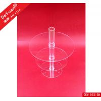 8 Tier Stand Wedding Cake Holder Acrylic Display Stands For Cupcake Round Manufactures