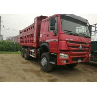 Industrial Dump Truck Heavy Duty / Sand Dump Truck With 12.00R20 Tyres Manufactures