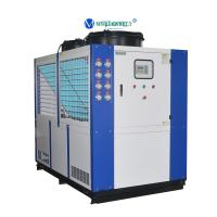 China Chiller Manufacturer 30RT 40hp Refrigeration Water Cooling System Chiller Low Price Manufactures