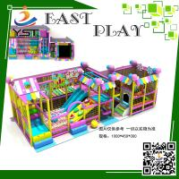 TUV Certificate Indoor Soft Play Equipment , Indoor Kids Playhouse For Shopping Center Manufactures