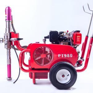 Multiple Gun Diesel 9 HP Airless Paint Sprayer PT980 With Hydraulic Pump Manufactures