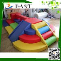 Multi Color Kids Soft Foam Blocks PVC Software Material Easy Assembly Manufactures