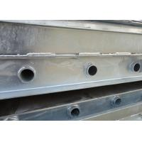 China Customized Galvanized Steel Channel High Toughness For Steel Bridge Parts on sale