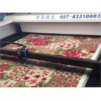 China Industrial Laser Carpet Cutter , Laser Cutting And Engraving Machine on sale
