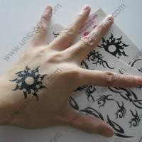 Sun Symbol Temporary Tattoo Sticker/Decal Manufactures