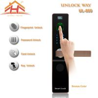 CE FCC Contactless Biometric Fingerprint Door Lock With IC Card Read Manufactures