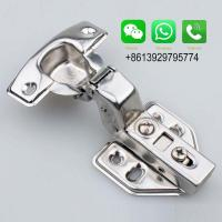 China Guangdong Ocean Stainless Steel full overlay/half overlay/inset Solf Closed Cabinet Hinge on sale