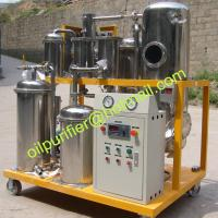 Portable Used Hydraulic Oil Purifier Machine, with stainless steel filtering element Manufactures