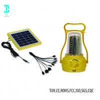 Waterproof Solar Powered Camping Lights Solar Panel Lantern 2 Years Warranty Manufactures