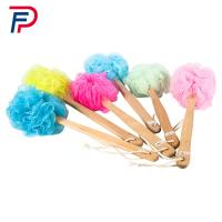 Factory directly beautiful body cleaning plastic bath brush with long handle Manufactures