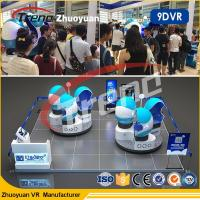 Attractive 360 Degree Theme Park  9D VR Simulator With HD 1080P Glasses