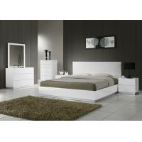 Adult Wooden Bedroom Furniture Sets , Strong Structure 5 Piece Bedroom Set King  Manufactures