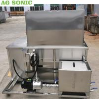 Stainless Steel Ultrasonic Engine Cleaner 28khz Frequency With Oil Filtration System Manufactures