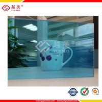 China translucent blue polycarbonate solid sheet roof sheet on sale