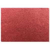 70% Wool 2 Sided Fabric 720 G Per Meter , Red Series Double Faced Coat Fabric 57'' Width Manufactures