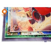 China Kids Carpet Flooring Polyester  Printed Felt Sheets Backed Non - Slip Nonwoven wholesale
