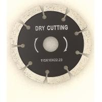 China 4.3 (110mm) Cold Pressed Sintered diamond saw blade Cutting Disc for cutting marble granite and concrete on sale