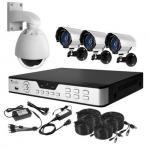 RJ45 CMOS Analog HD Indoor Security Cameras NTSC / PAL , 24 LEDs Manufactures